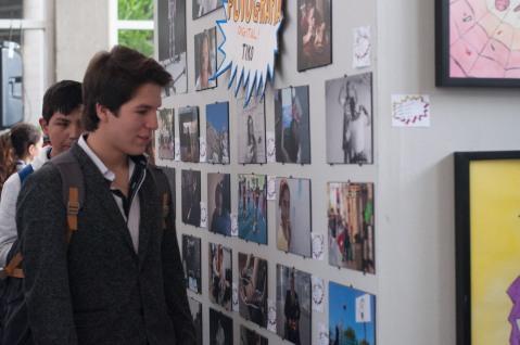 Durante la exposición
