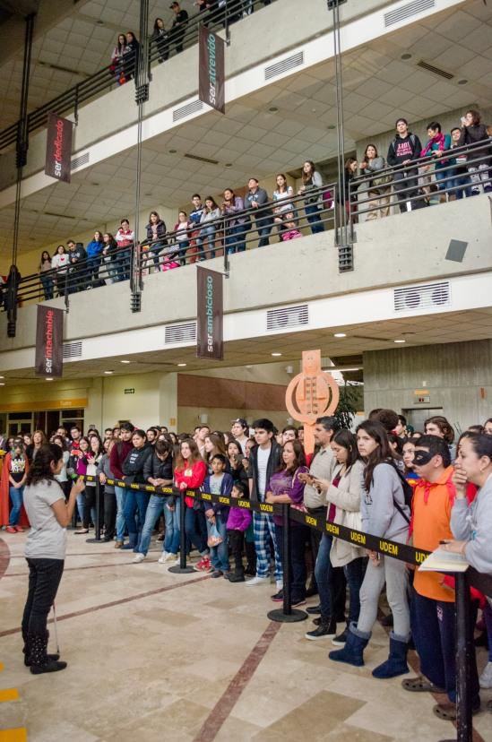 Público asistente durante la inauguración